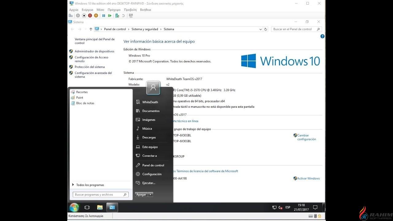 Windows 10 Lite Edition 4 x64 2017 Free Download