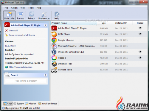 Uninstall Tool 3.5.4 Portable Free Download