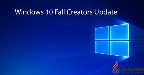 Windows 10 RS3 Fall Creators Free Download