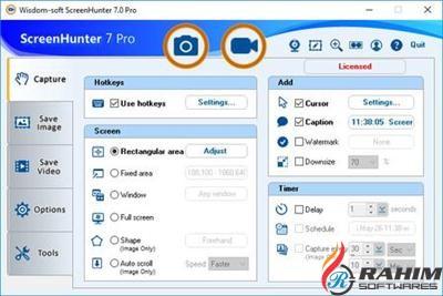 ScreenHunter Pro 7.0.957 Portable Free Download