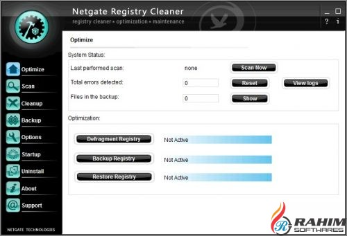 NETGATE Registry Cleaner 17 Free Download