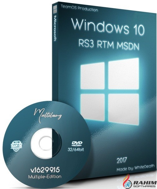 Windows 10 RS3 V1709 November 2017 MSDN Download