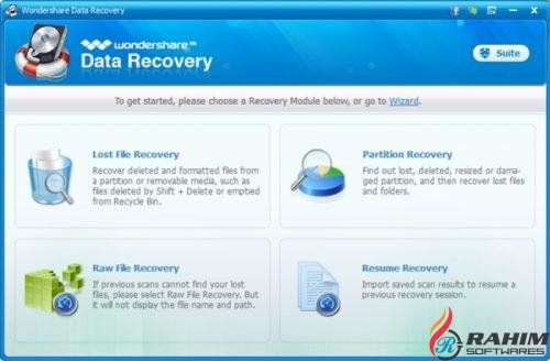 Wondershare Data Recovery 6.6.0.21 Free Download