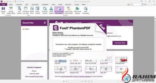 Foxit PhantomPDF Business 9 Free Download