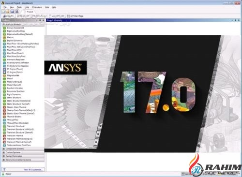 ANSYS Products 17 Free Download