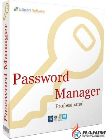 Efficient Password Manager Pro 5.50 Free Download