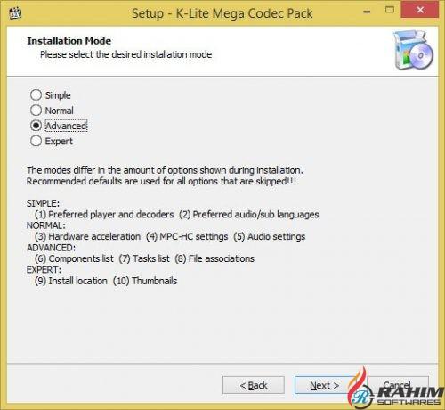 K-Lite Mega Codec Pack 13.6.5