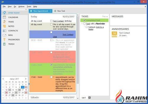 EssentialPIM Pro 7.54 Free Download