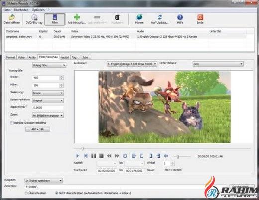 XMedia Recode 3.3.7.9 Portable Free Download