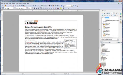 Apache OpenOffice 4.1.5 Portable Free Download