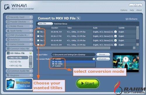 WinAVI Video Converter 11.6 Portable Free Download