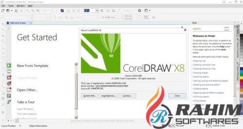 CorelDRAW X8 Portable Free Download