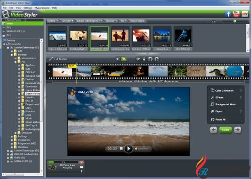 Ashampoo Video Styler Free Download