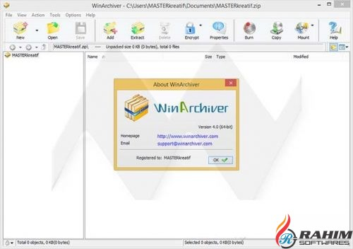 WinArchiver 4.3 Free Download