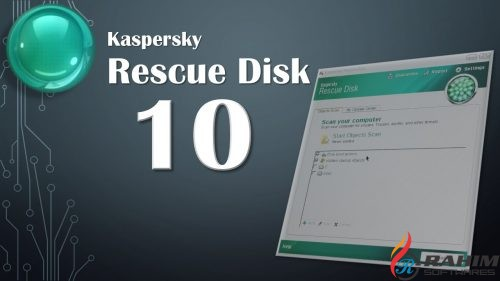 Kaspersky Rescue Disk 10 Build 2017.12.31 USB Free Download
