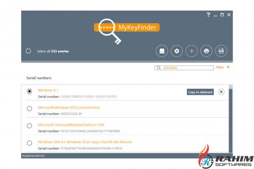Abelssoft MyKeyFinder 2018 Free Download