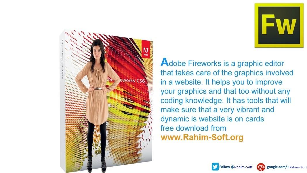 Adobe Fireworks CS6 12.0 Free Download