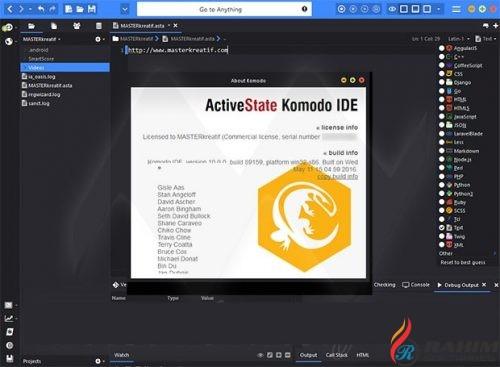 ActiveState Komodo IDE 11.0 Portable Free Download