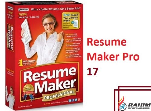 Resume Maker Pro 17 Free Download
