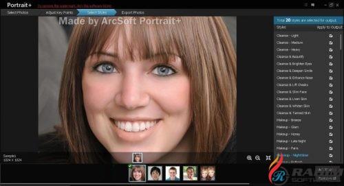 ArcSoft Portrait Plus 3 Portable Free Download