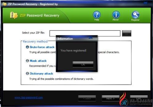 ZIP Password Recovery 1 70 Free Download