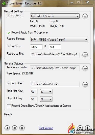 Stone Screen Recorder Free Download