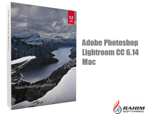 Adobe Photoshop Lightroom CC 6.14 Mac Free Download