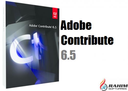 Adobe Contribute 6.5 Free Download
