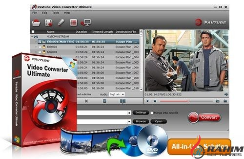 Pavtube Video Converter Ultimate 4 Portable Free Download