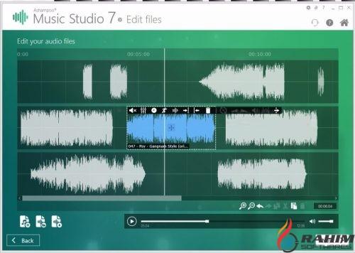 Ashampoo Music Studio 7.0 Portable Free Download