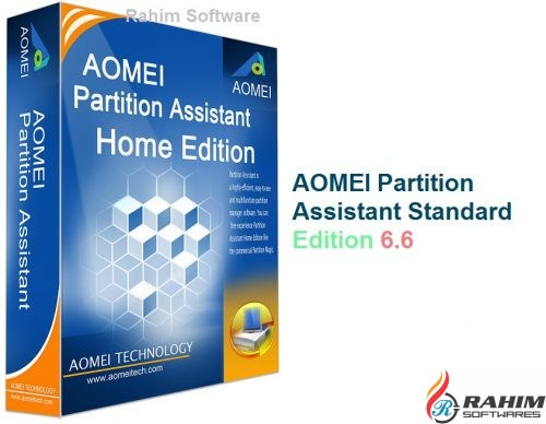 AOMEI Partition Assistant Standard Edition 6.6 Free Download