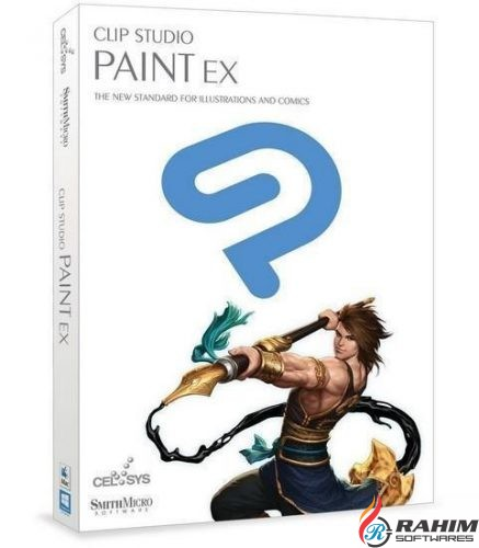 Smith Micro Clip Studio Paint EX 1.6 Mac Free Download