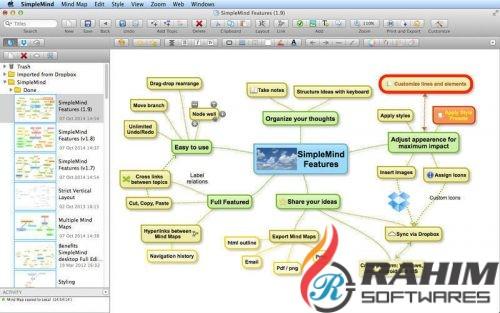 SimpleMind Desktop Pro 1.15.0 + Portable Free Download