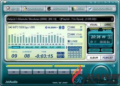 JetAudio Plus 8.1.6 Portable Free Download