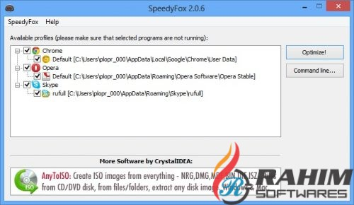 SpeedyFox 2.0.18 Build 111 Portable Free Download