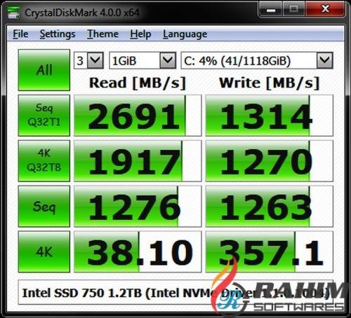 CrystalDiskMark 5.2.1 Portable Free Download