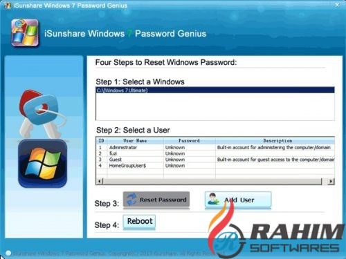 Windows Password Remover 7.0 Free Download