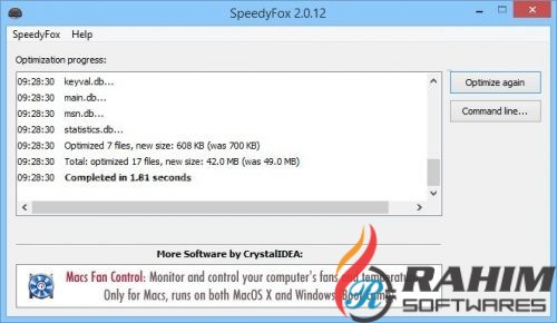 SpeedyFox 2 0 18 Build 111 Portable Free Download