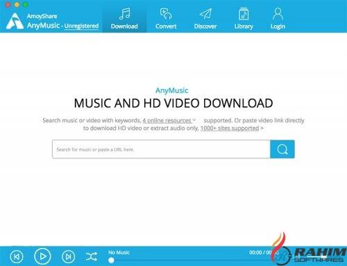 AmoyShare AnyMusic 5 Free Download