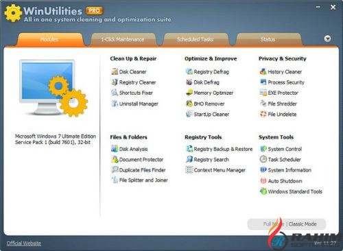 WinUtilities Professional 15.1 Free Download