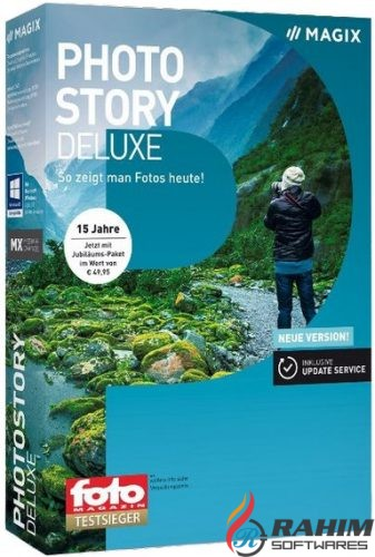 MAGIX Photostory 2018 Deluxe Free Download