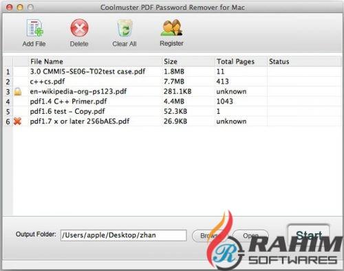 Portable PDF Password Remover 2.1.9 Free Download