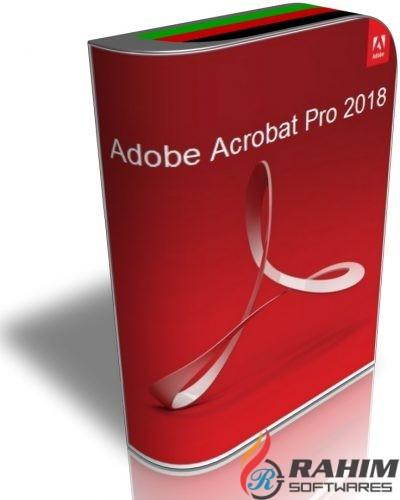 Adobe Acrobat Pro 2018 Free Download