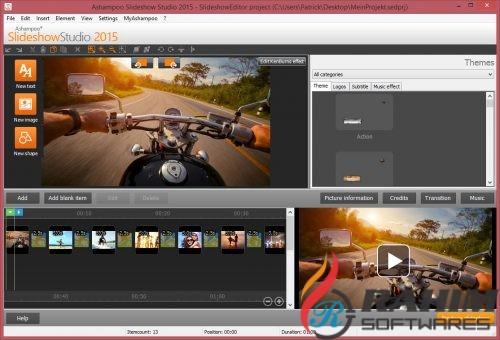 Ashampoo Slideshow Studio HD 4.0 Portable Free Download