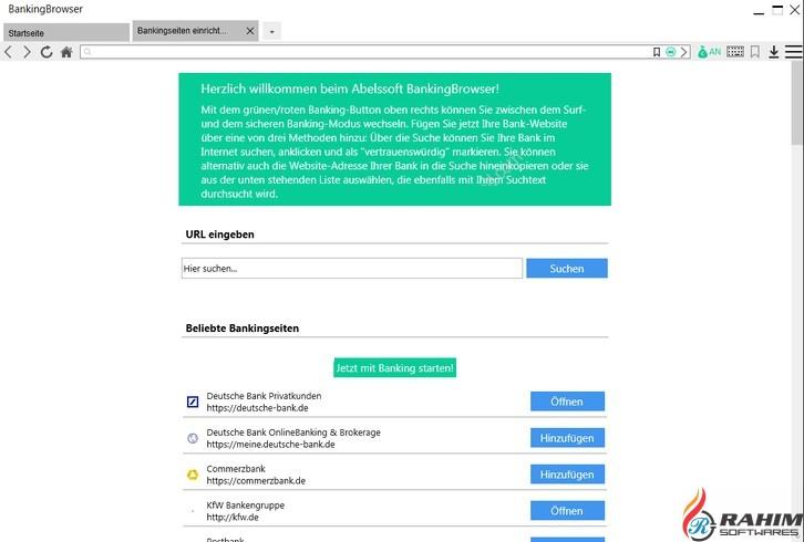 Abelssoft BankingBrowser 2018 Free Download