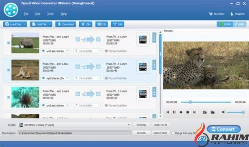 Tipard Video Converter Ultimate 9.2.30 Portable Free Download