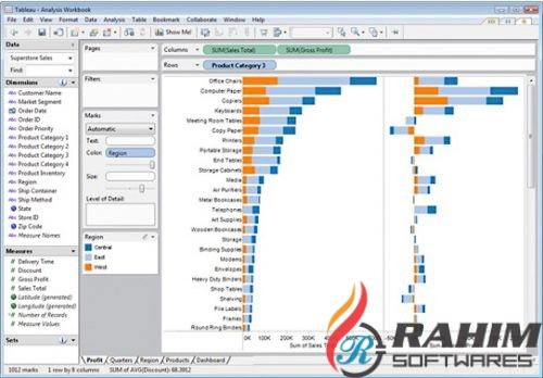 Download Tableau Desktop Professional 10