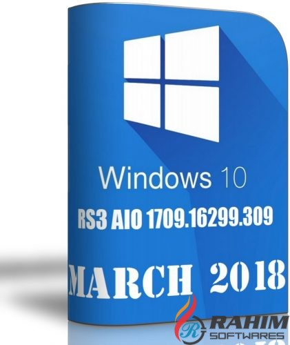 Download Windows 10 RS3 AIO March 2018 ISO