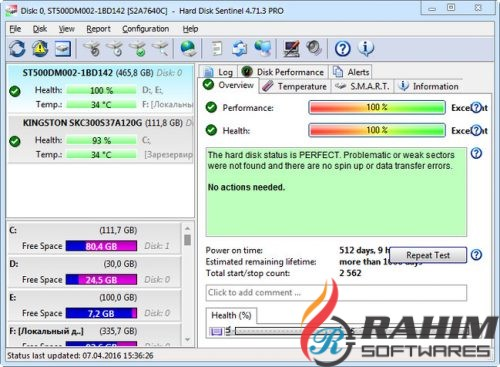 Hard Disk Sentinel Pro 5 Free Download