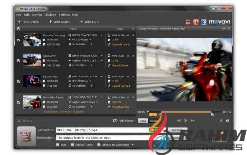 Download Movavi Video Converter 18.2 Premium Portable